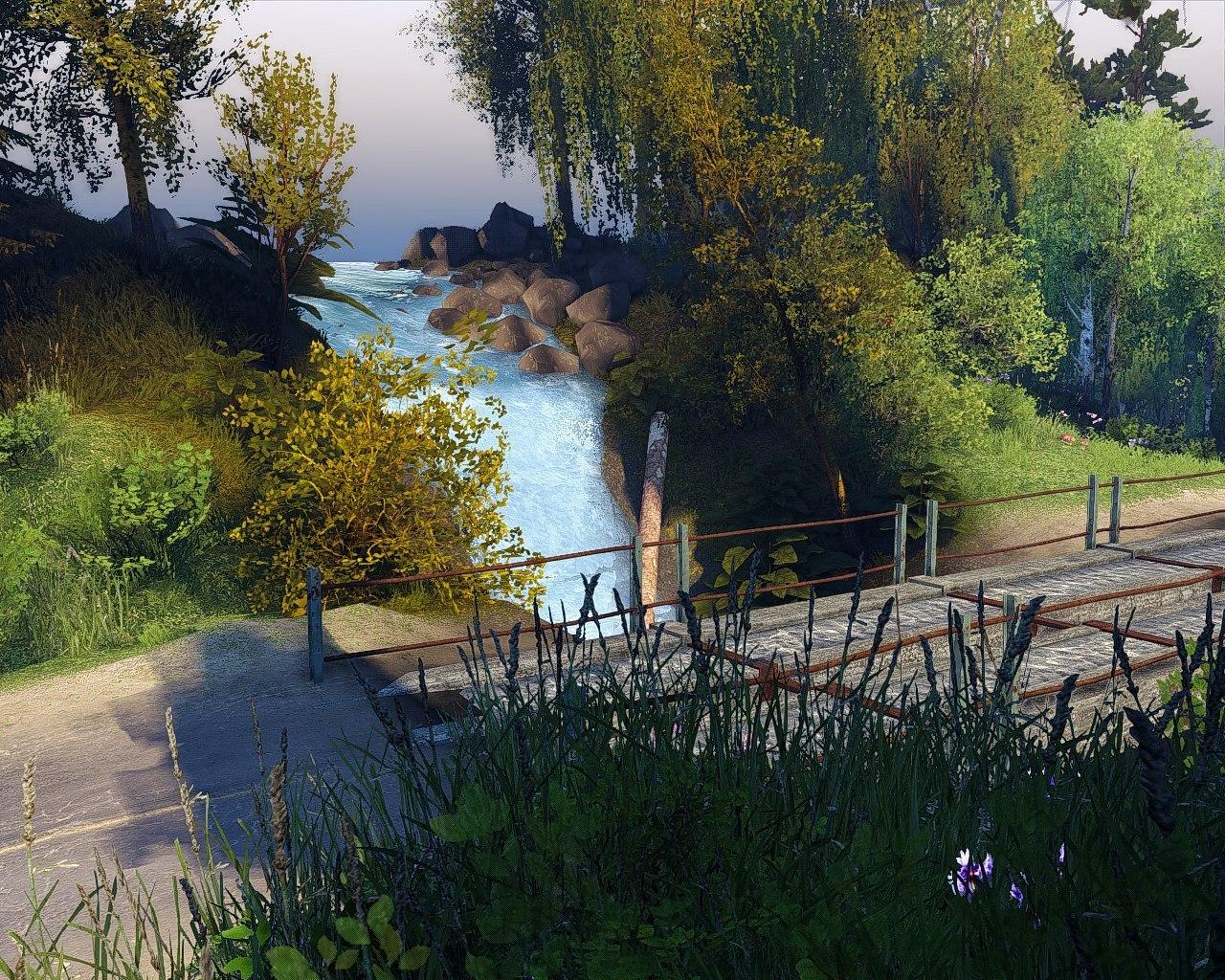 """Карта """"Faerie Hill"""" (13.04.15.) для Spintires - Скриншот 2"""