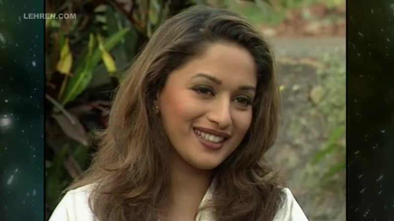 Эксклюзивное интервью Мадхури Дикшит на съемках фильма Существование Wajood, 1998.