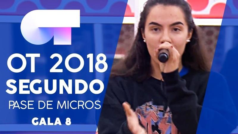 SEPTEMBER - FAMOUS y MARTA | SEGUNDO PASE DE MICROS GALA 8 | OT 2018