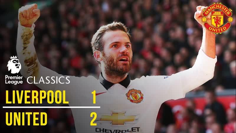 АРХИВЫ: Ливерпуль 1:2 Манчестер Юнайтед (АПЛ 14/15 30-й тур 22.05.2015)
