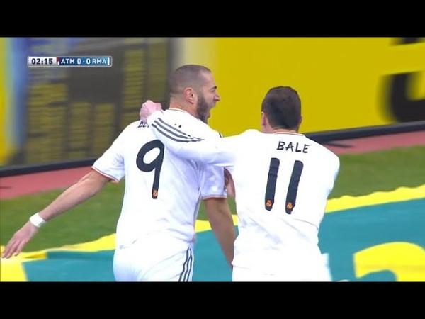 Top 10 Times Bale Benzema Saved Madrid