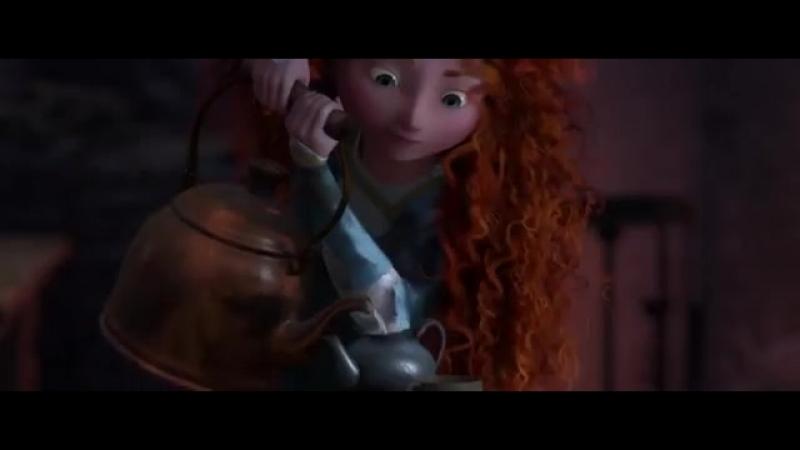 Храбрая сердцем в 3Д мультфильм только 25 февраля на 15 00