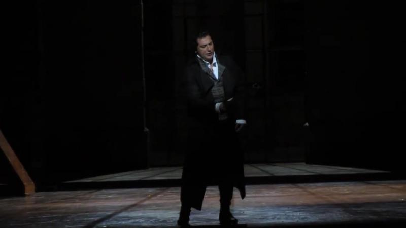 Come un bel dì di maggio. J. Leon as Andrea Chénier. GTL. Barcelona.