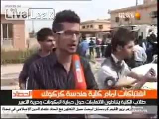 Fight- 9-11 Turkmen vs 2-3 Kurds in Kirkuk