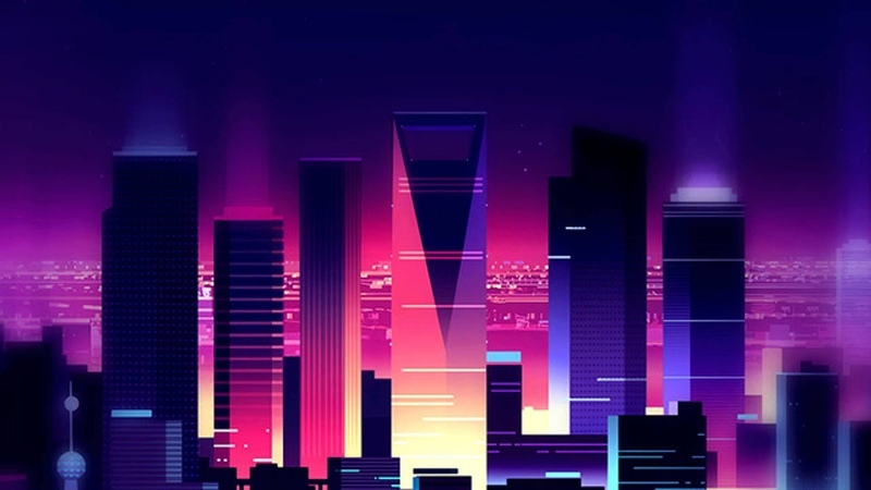 Infinity: A Futuristic Synthwave mix [Chillwave - Retrowave]