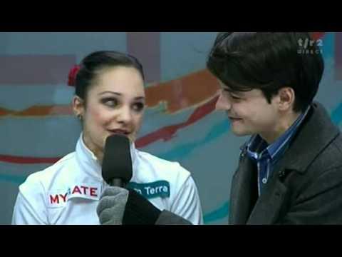 2011 1 29 Euros TSR Ladies FS: KC Interview with Meier