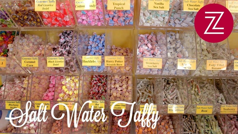 Here's How Real New Jersey Salt Water Taffy is Made - Sweet Tooth, Ep. 2