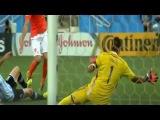 Футбол. ЧМ-2014. Голландия - Аргентина. Лучшие моменты