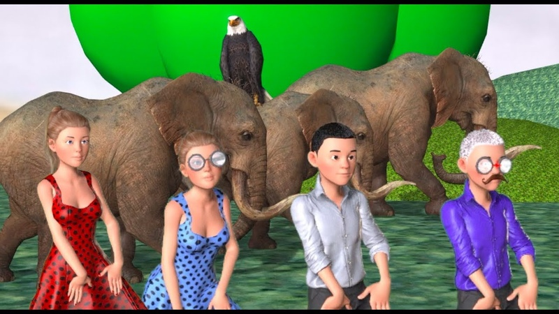 เพลงช้าง ช้าง ช้าง น้องเคยเห็นช้างหรือเ