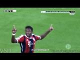 Alaba nice free kick