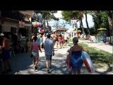 Аллея на набережную Кабардинки 2012