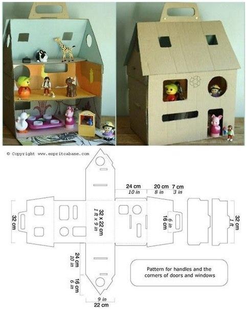 Часть 1 - Схемы коробочек для