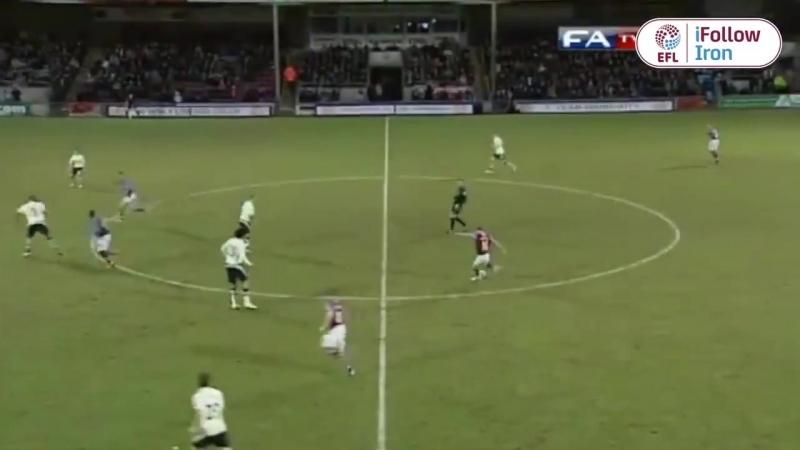 Гол Майкла Коллинза в ворота Эвертона (сезон 2010/11)