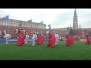 Danza Peruana Marinera en la Plaza Roja de Moscu Mundial 2018