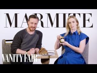 Джеймс МакЭвой и Эмили Блант обсуждают типичный британски день