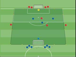 Футбольные упражнения на владение мяча, прохождения и движения без мяча