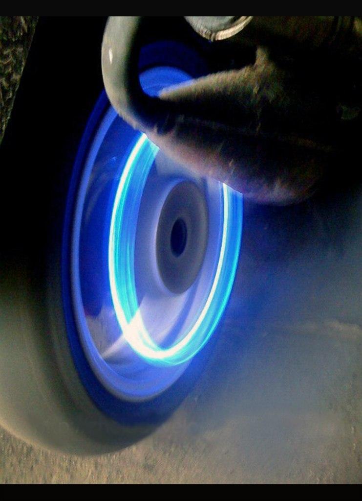подсветка колес мотоцыкла