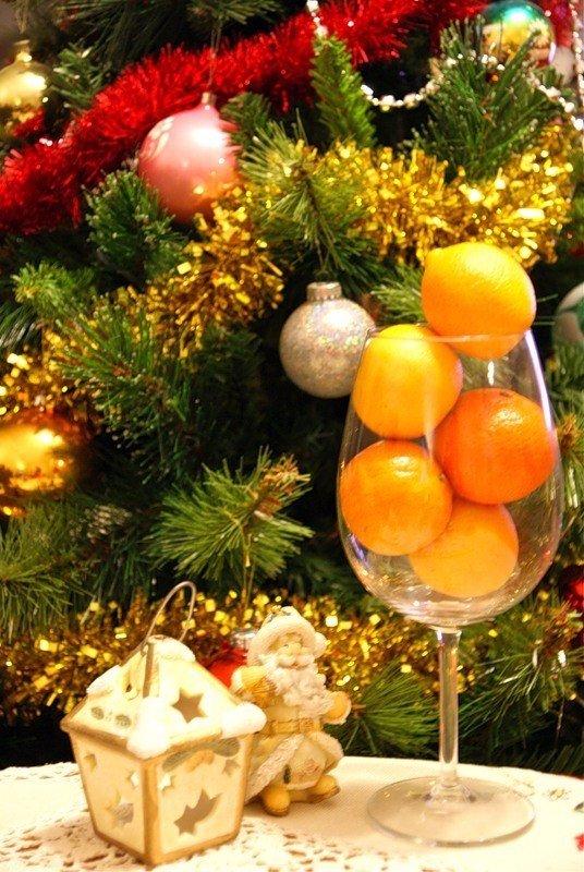 Фото манддарин під новий рік
