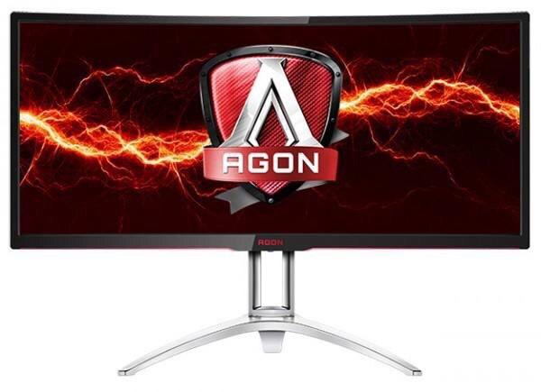 AOC представила 35-дюймовый изогнутый монитор для игроков AGON AG352UCG