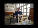 Візиті́вка учня гр. С-31 Гаращенка Ол. на Всеукраїнський конкурс столярів м. Дніпро