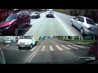 TrendVision TV-703 GPS Чуть в жжж не вмазал!!!!
