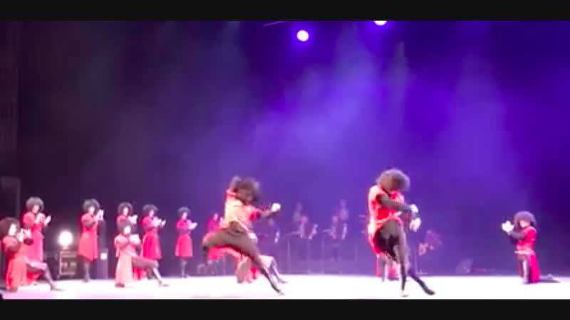 ансамбль Грузии Сухишвили - танец Ханджлури (22.12.2018)