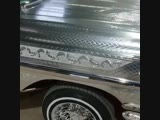 1958 Chevrolet Impala, Engraved Metal Paint