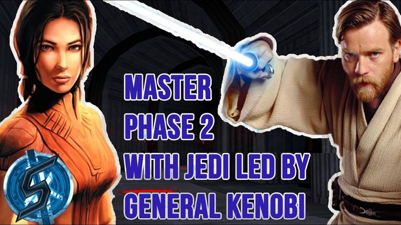 [EN] PHASE 2 - LEARN HOW TO LEAD JEDI TO THE VICTORY WITH GENERAL KENOBI - HEROIC SITH RAID