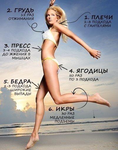 упражнения для похудения живота анита луценко