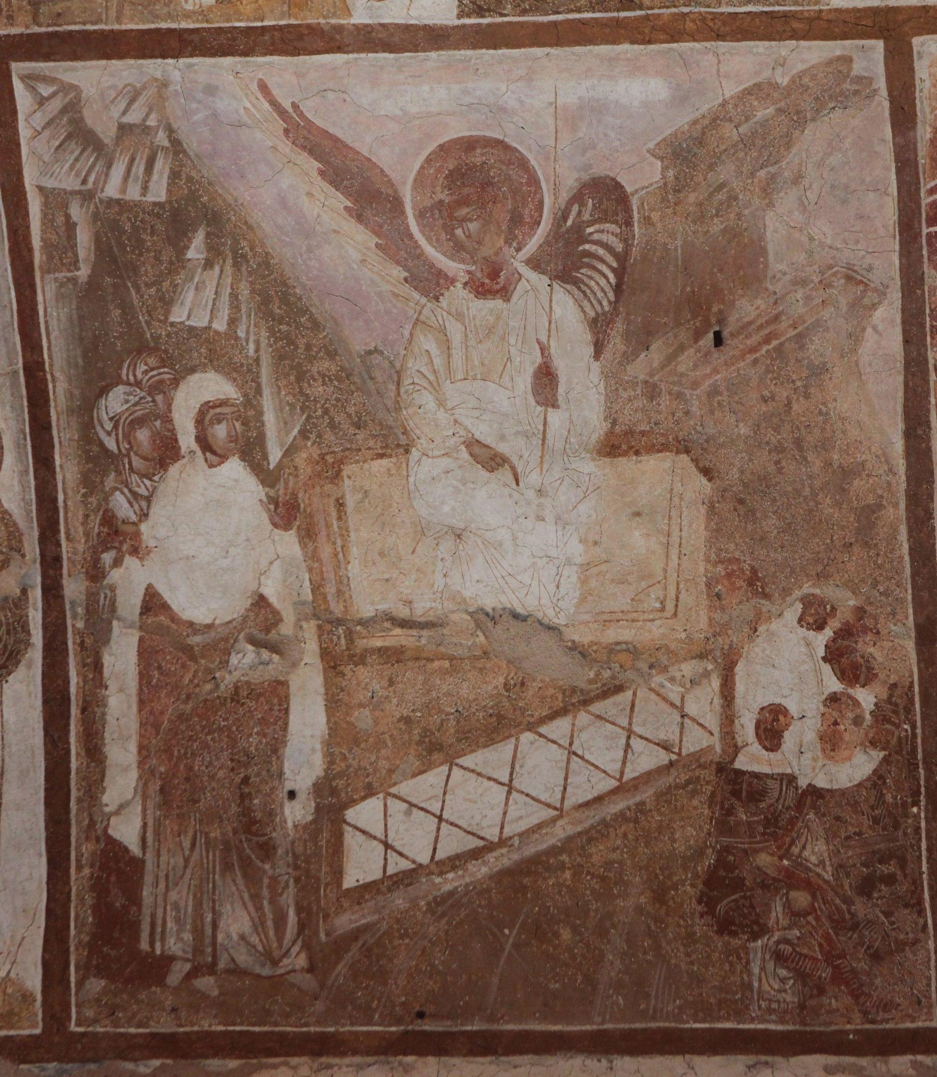 Жены мироносицы у гроба