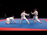 Karate1 PL, Almere 2014 - BKF vs. CORATIA - Kata Team female FINAL - 2