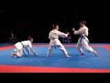 Karate1 PL, Almere 2014 - BKF vs. CORATIA - Kata Team female FINAL - 2