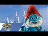 Ulyana congratulates Smurfs Christmas and happy New year