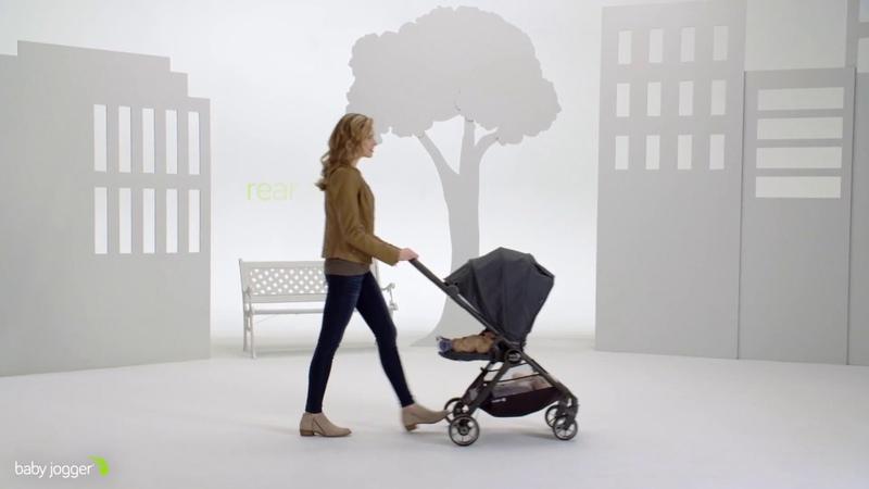 Baby Jogger City Tour Lux - компактная прогулочная коляска с реверсивным сиденьем
