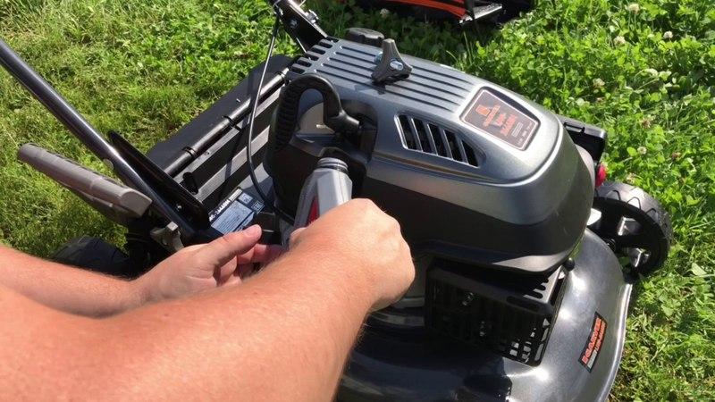 Бензокосилка Carver LMG 2646 DM, обзор бензиновая газонокосилка Карвер, тест, переезд в деревню