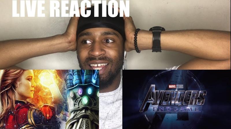 Avengers ENDGAME - Official Trailer Reaction / Review avengers