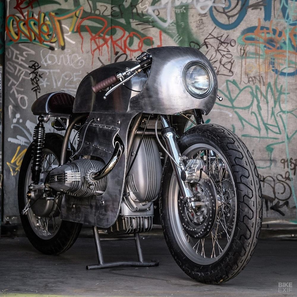 Kott Motorcycles: кастом Exodus на базе BMW R80