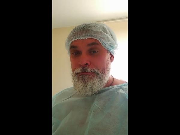 Завершение колоноскопии и сушняк