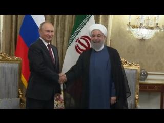 Исторический саммит: президенты России, Ирана и Турции обсудят мир в Сирии