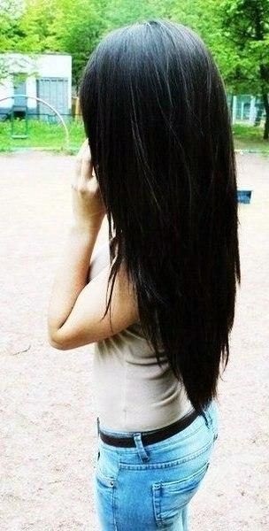 фото с чёрными волосами