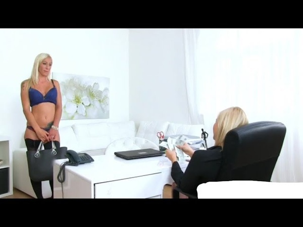 Female Agent - Blonde Interview For Money