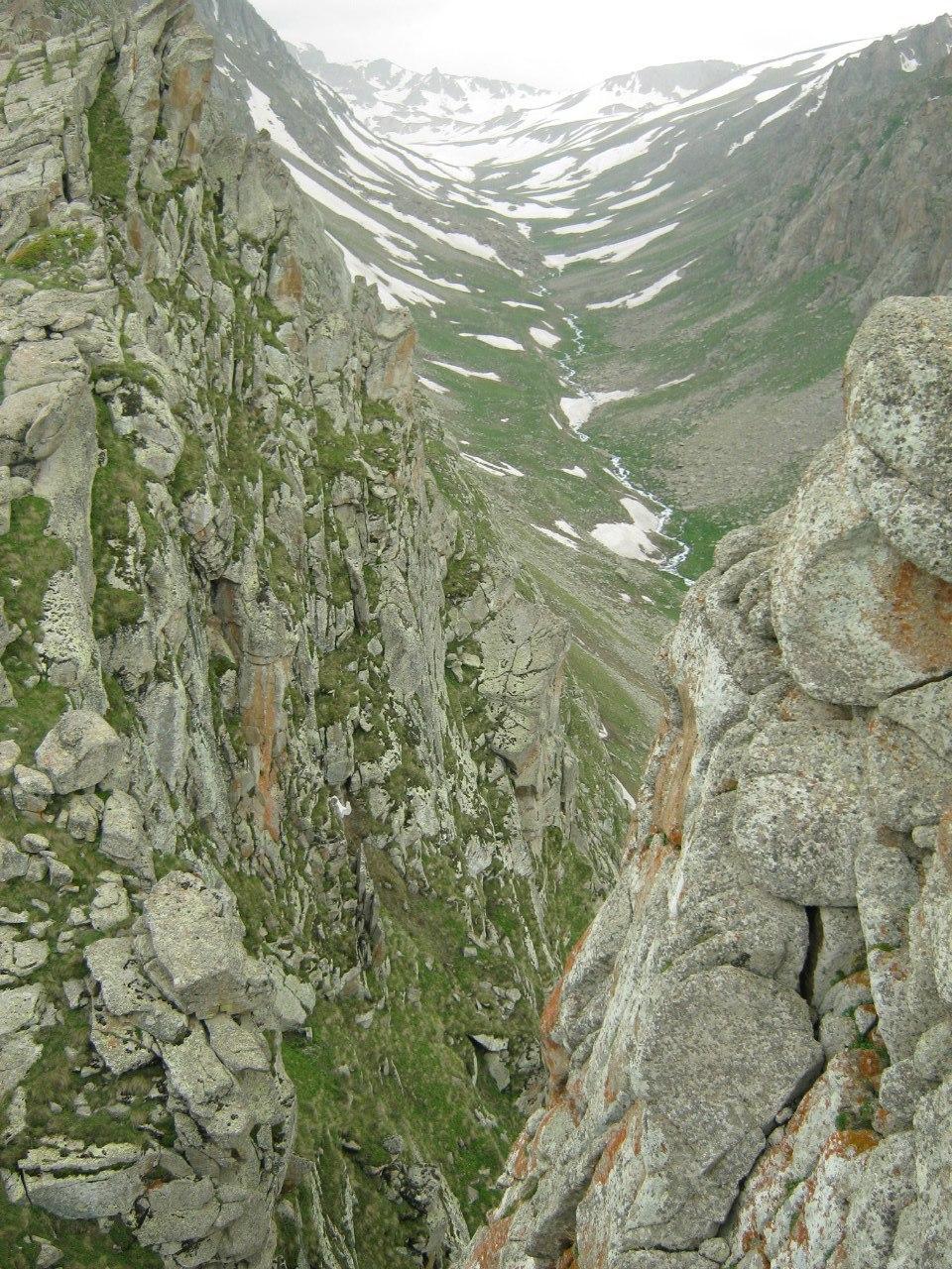 над каньоном от Каджаранского перевала