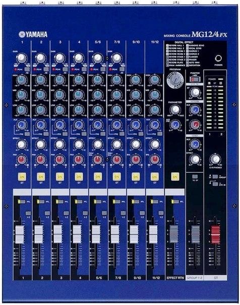 Копия Микшерный пульт Yamaha на 12 каналов