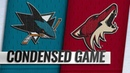 12/08/18 Condensed Game: Sharks @ Coyotes