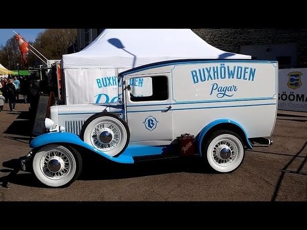 1936 Bedford Light Delivery Van - старинный автомобиль фургон после реставрации | Про Автомобили