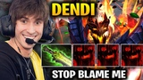 Dendi Shadow Fiend Ethereal Blade + Raze Dota 2 7.17