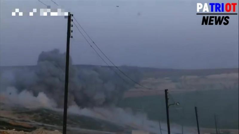Курды Уничтожают террористов вместе с САР в Африне операция оливковая ветвь Турц.mp4