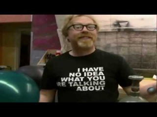 Mythbusters Adam Savage Helium and Sulfur Hexafluoride