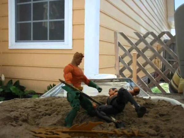 Stop Motion Fight Aquaman vs Namor