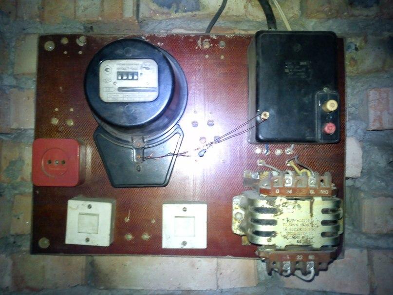 Электричество в гараже